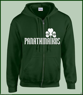 Panathinaikos Athen Jacke  Sweatjacke Hooded Jacket Gate 13 Sweatshirt