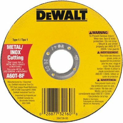 DeWALT DW8065 7'' x .045 x 7/8'' Metal Thin Cut-off Wheel -Type 1