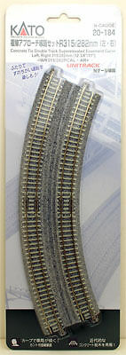 Kato 20-184 Easement Curve Track WR315/282PCAL (N scale)