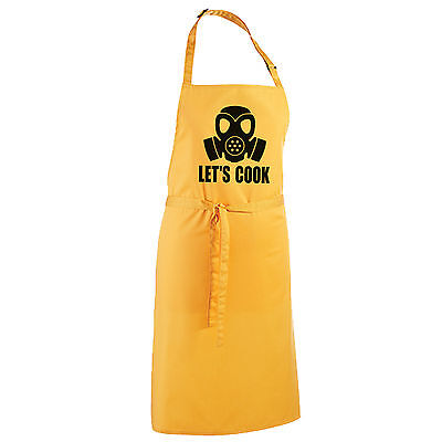 Let's Cook Apron - Breaking Bad Restaurant Walter White Jesse Cooks Chef Top