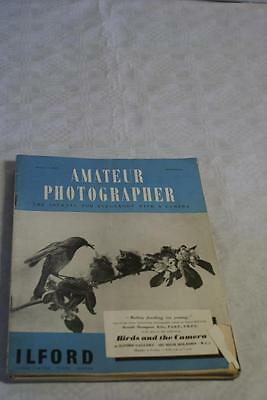 Amateur Photographer July 13, 1949 posing the subject