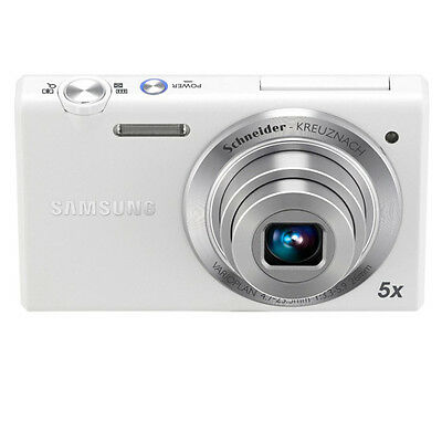 Samsung Multiview MV800 16.1MP Digital Camera with 5x Optical Zoom (White)