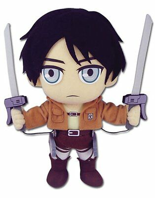 "*NEW* Attack on Titan Chibi Eren 8"" Plush"
