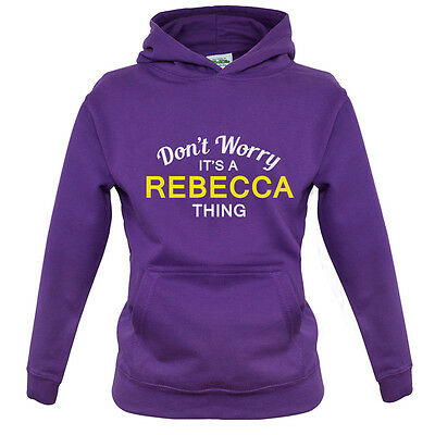 8 Colours Kids Don/'t Worry It/'s a CALLUM Thing! Childrens Hoodie
