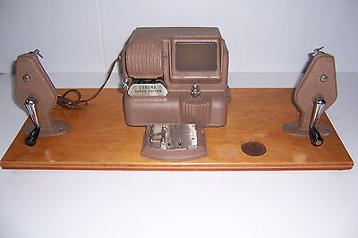 Vintage Corona Super Editor Film Movie Editor Machine