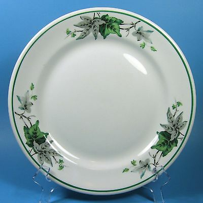"Shenango China Restaurant Ware IVY GLEN 9.25"" Dinner Plate USA Vintage 1958"