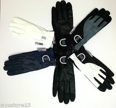 RSL Quality Horse Riding Gloves All Sizes / Colours  SECONDS