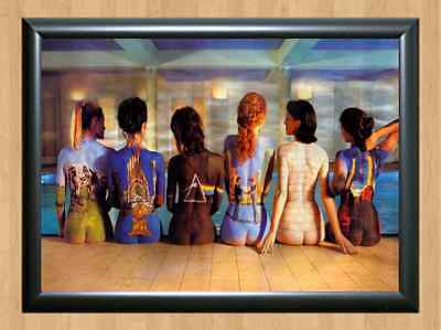 Pink Floyd Back Catalogue Sexy Paint Art Wall Decor Home A4 Photo Print Poster