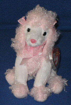 TY DIVALIGHTFUL the POODLE BEANIE BABY - MINT with MINT TAGS
