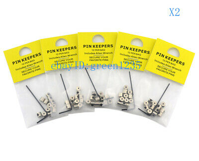 120 Pin Keepers/Locking Pin Backs/Lapel Pin Locks-Secure Your Favorite Pins