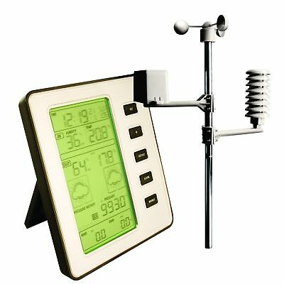 Professional Wireless Weather Centre Forecast With Thermo Hydro Wind Rain Sensor