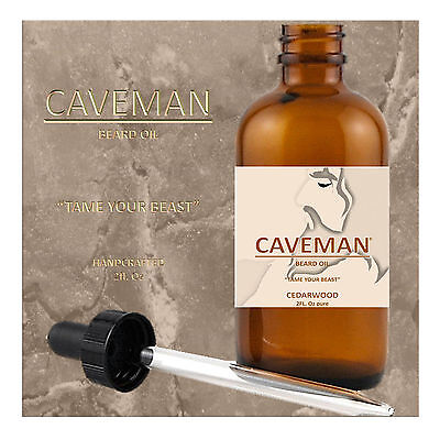 Hand Crafted Caveman® 3 Scents Hippie Beard Oil Beard Conditioner Free Comb Last Style Shaving & Hair Removal Health & Beauty