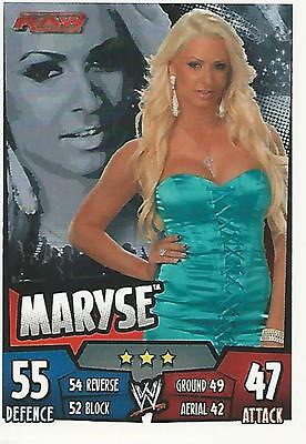 WWE Topps Slam Attax Rumble Trading Card Maryse