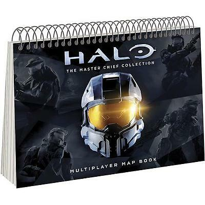 Halo master chief collection Multiplayer map book Rare item *NEW!*