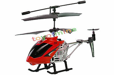 3 Channel RC GYRO Mini Metal Helicopter 3CH Remote Control S107G