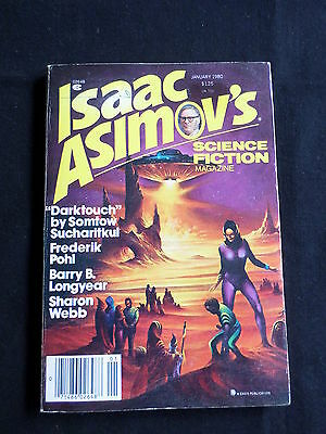 ISAAC ASIMOV's- SCIENCE FICTION MAGAZINE - USA - JAN 1980 -ARLAN KEITH ANDREWS