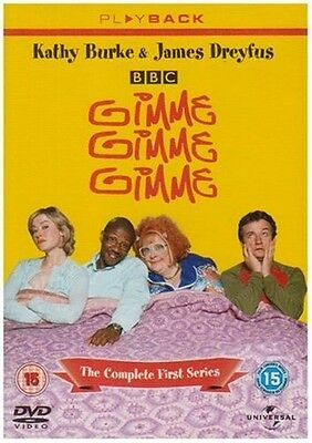 Gimme Gimme Gimme: The Complete Series 1 [DVD] Region 2 Kathy Burke James Dreyfu