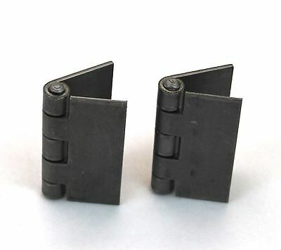 "Heavy Duty Weldable Pair 3"" x 3"" Gate Hinges-Steel Butt Hinge /Hvy Gates Doors"