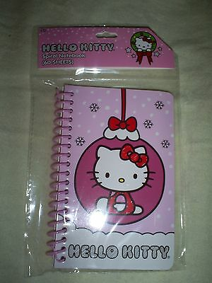 "3.5"" W x 5.5"" T Hello Kitty on Christmas Ornament 60 Sheet Spiral Notebook"