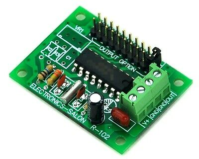 2/4/8/32/64/128/256/512/1024/2048 Hz Low Frequency Square Wave Oscillator Board.