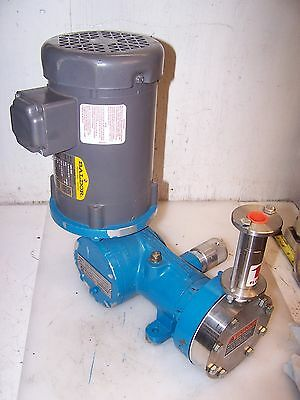 New Tuthill Stainless Steel Chemical Metering Pump 15P1F2300Sxss100