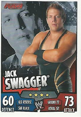 WWE Topps Slam Attax Rumble Trading Card Jack Swagger
