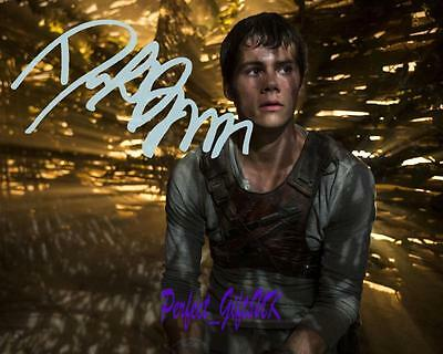 Dylan O Brien - The Maze Runner SIGNED AUTOGRAPHED 10X8 PREPRINT PHOTO PRINT