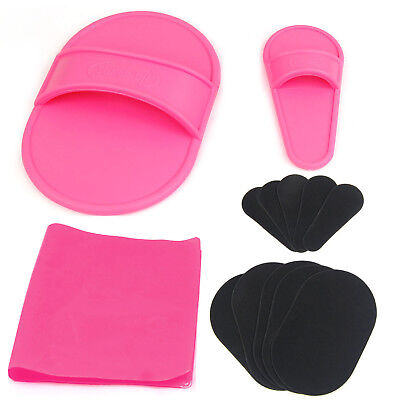Exfoliating Hair Removal Pad Set for Smooth Skin - By TRIXES