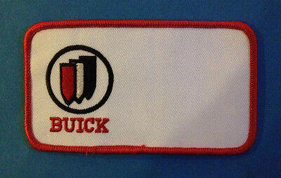 Vintage 1980's GM Buick Car Club Jacket Coveralls Uniform Patch Crest