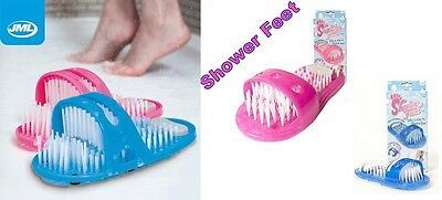 Origional JML Shower Feet Foot Cleaner Scrubber Washer Brush Massager Xmas Gift