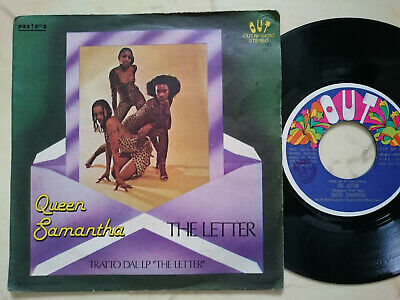 QUEEN SAMANTHA The Letter / Don´t Stop I Feel Good *ITALO OUT LABEL