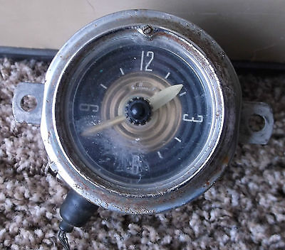 Vintage Westclox (1950s) Automobile (Ford) Dash Clock !!!