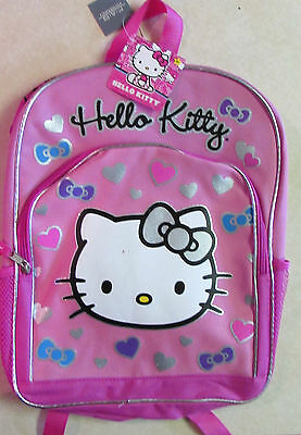 AUTHENTIC SANRIO - HELLO KITTY CHILDREN'S BACKPACK - BRAND NEW - PINK -Very Cool