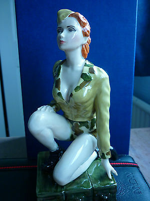 Kevin Francis Peggy Davies rare limited edition of 100 Rita Hayworth Cover Girl