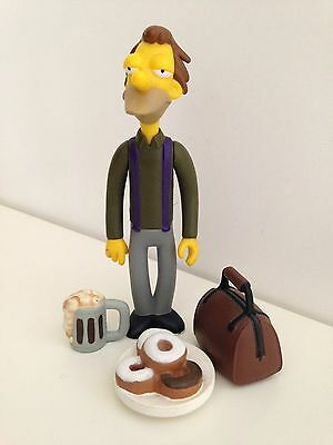 Playmates Simpsons Interactive WOS Figure Lenny