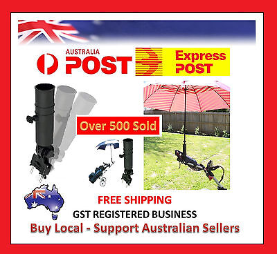 Universal Golf Umbrella Holder For Buggy Cart / Baby Pram / Wheelchair Clicgear