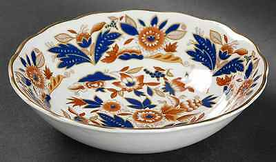 Booths DOVEDALE BROWN & COBALT Cereal Bowl 38049