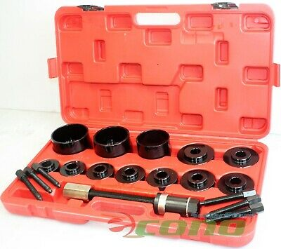 19pc Master Set Front Wheel Hub Drive Bearing Removal Install Service Tool Kit