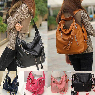New Fashion Women Ladies Tote Shoulder Messenger Cross Body Bag Satchel Handbag