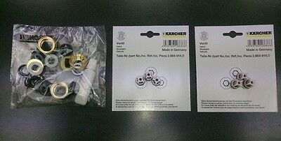 KARCHER HD 6/13 5/12 jet washer pump kit seals valves washers (2.883-997.0)