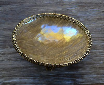 Mike and Ally Bolshoi Small Metal Decorative Bowl in Bronze & Antique Gold Color