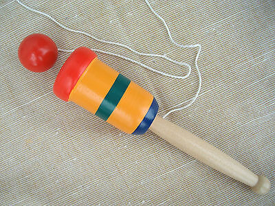 WOODEN BALL AND CUP GAME - OLD FASHION FUN - NEW!!
