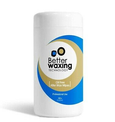 Better Waxing Oil-Free After Wax Wipes 100pk