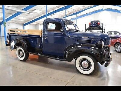 Dodge : Other Pickups WD-15 (-MUST SEE-) 1947 Dodge WD-15 3/4 Ton Flathead Inline 6 With Manual 4-Speed