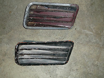 1967 Mustang GTA Fastback Coupe Rear Quarter 1/4 Panel Side Scoop Pair C7ZB-65 L