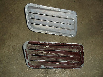 1967 Mustang GTA Fastback Coupe Rear Quarter 1/4 Panel Side Scoop Pair C7ZB-65 R