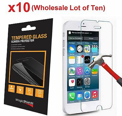 10x Wholesale Lot Tempered Glass  Screen Protector for Apple iPhone 6 Retail Box