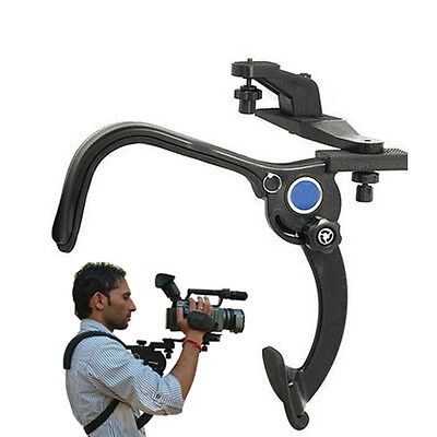 UK Shoulder Pad Mount Hand Free Stable Support for Camcorder DV Video Camera