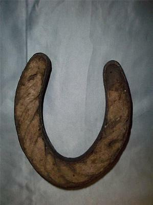 Antique Rare Horse Shoe With Rope Insert.