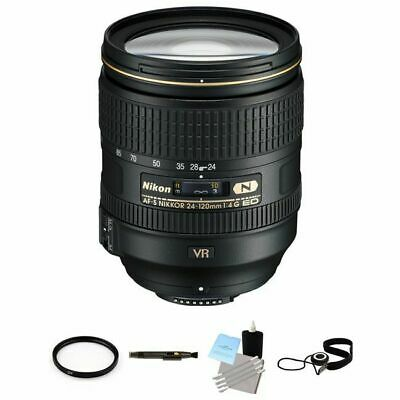 Nikon AF-S NIKKOR 24-120mm f/4G ED VR Zoom Lens Package